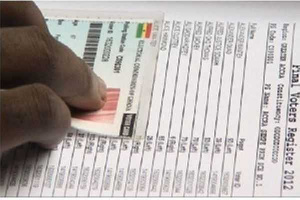 A total of 16, 963, 306 voters have been registered to vote in the upcoming December 7 elections