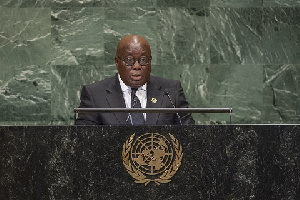 President Akufo Addo Addresses UN General Assembly