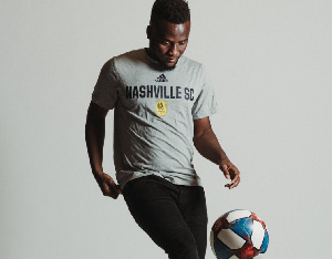 Nashville SC will be the fourth team Accam will feature for in the MLS
