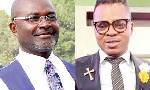 Kennedy Agyapong in a collage with Daniel Obinim