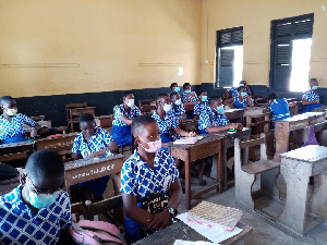 File Photo of children in a school