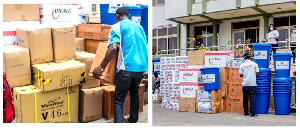 Unitylink donates to Ghana Health Service and Coronavirus Fund