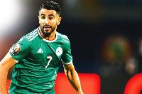 Algeria skipper, Riyad Mahrez