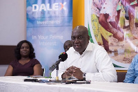 CEO of DALEX, Kenneth Kwamina Thompson said the funds will be used to provide farming inputs