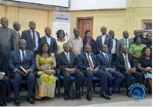 Some of the dignitaries at the public lecture