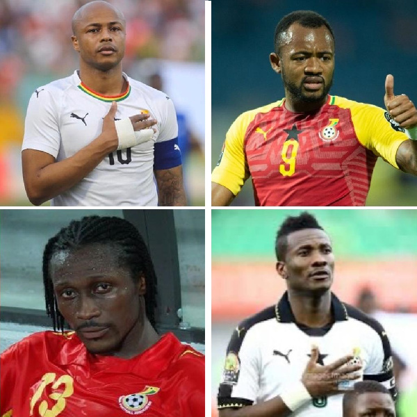 Blood brothers to have played for Ghana's Black Stars