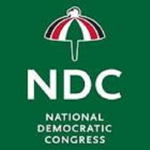 A file photo of the National Democratic Congress (NDC) flag