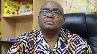 Ben Ephson, Managing Editor of the Daily Dispatch Newspaper and Pollster