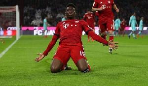Bayern Munich star Alphonso Davies