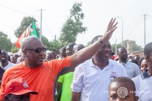 John Mahama Unity Walk New1