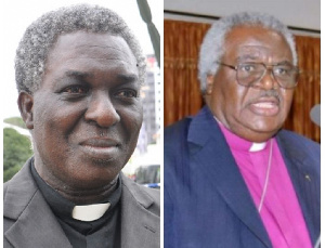Rev Yaw Frimpong Manso and Rev Prof. Emmanuel Martey