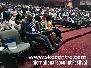 Stakeholders present at the 2019 International Coconut Festival Fair