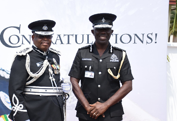 COP Dampare officially starts work as Acting IGP today