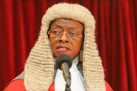 Former Chief Justice of Ghana, Sophia Akuffo