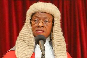 Sophia A. B. Akuffo, Chief Justice