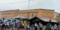 Violence erupted between supporters of NPP and NDC in Odododiodio constituency over the weekend