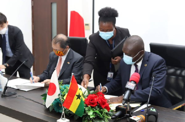 Ghana receives grants to support completion key projects