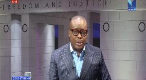 Host of Metro TV's Good Evening Ghana, Paul Adom-Otchere