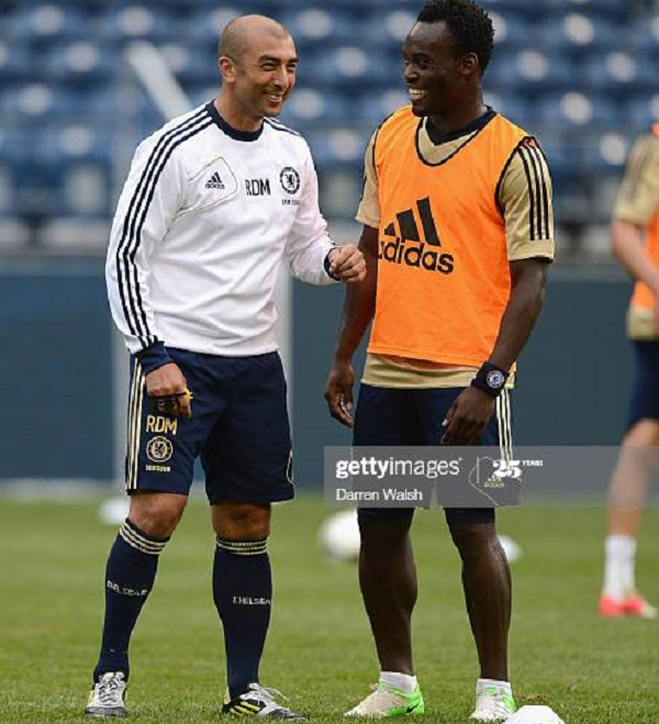 Michael Essien reveals how Di Matteo 'pushed' him out of Chelsea - GhanaWeb