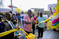 A ribbon-cutting ceremony to unveil the new homes was led by CEO of EIB Media Network, Bola Ray
