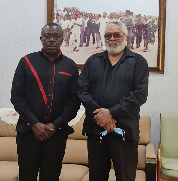 Asabee mourns with Rawlings