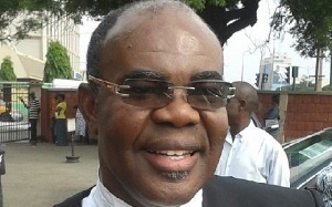 Lawyer Ayikoi Otoo, is a former Attorney-General