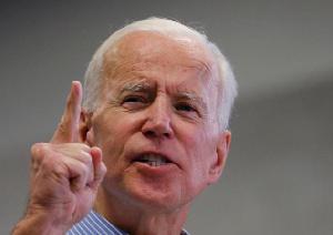 Joe Biden, fomer US veep