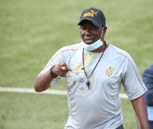 Ghana coach Abdul Karim Zito