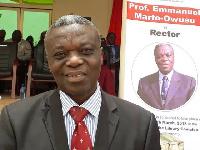 Rector for Wa Polytechnic, Professor Emanuel Owusu-Marfo