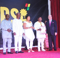 The awards celebrated 37 Ghanaian business personalities