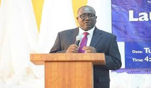 Executive Secretary for the National Media Commission, George Sarpong