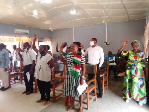 The NDC in the Hohoe Constituency of the Volta Region has launched its campaign committee