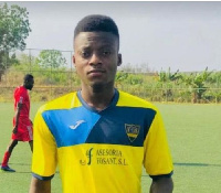 Ghanaian youngster Samuel Mone