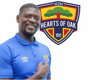 Hearts of Oak head coach, Samuel Boadu