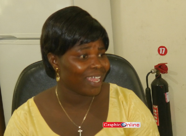 Mrs. Patricia Asante - Vice presidential nominee for the GFP