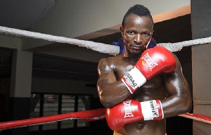 Joseph Agbeko, a former world bantamweight world champion