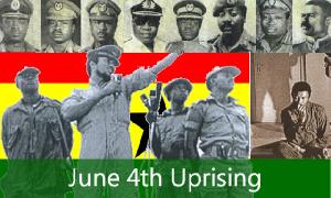 June 4, 1979 Uprising was organised by members of AFRC