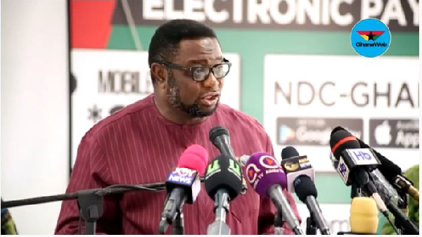 Akufo-Addo exhibiting symptoms of selective amnesia - Afriyie Ankrah
