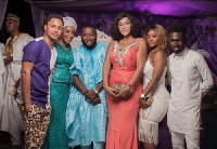 Nabil Meizongo, son of popular Ghanaian movie maker, Hajia Meizongo has wedded his girlfriend
