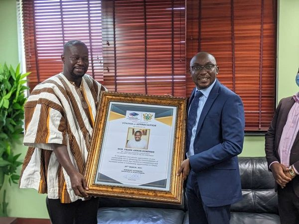 Scholarships Secretariat honours Majority Chief Whip