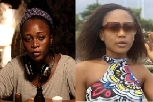 Combination photo of Leila Djansi (left) and Akuapem Poloo