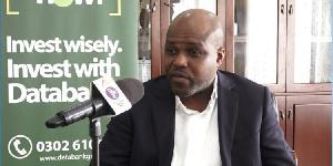 CEO of Data Bank, Kojo Addae Mensah