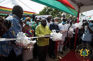 President Akufo-Addo launched the distribution of 500,000 improved cookstoves project