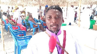 Prophet Edwin Selasi Wovenu's church was crowded with over 300 congregants