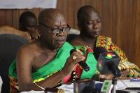 President of the National House of Chiefs, Ogyeahohoo Yaw Gyebi II