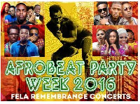 Afro Beat Party Week 2016