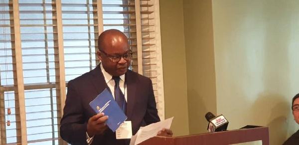 BoG governor, Dr Ernest Addison