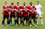 File photo of the Libyan national team