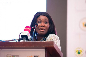 Minister of Fisheries and Aquaculture, Madam Elizabeth Afoley Quaye