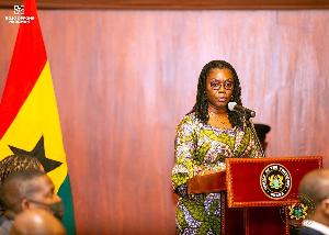 Ursula Owusu Ekuful, Minister of Commmunication